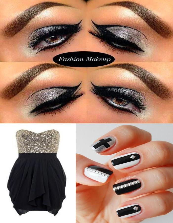 Que color de maquillaje para un vestido negro