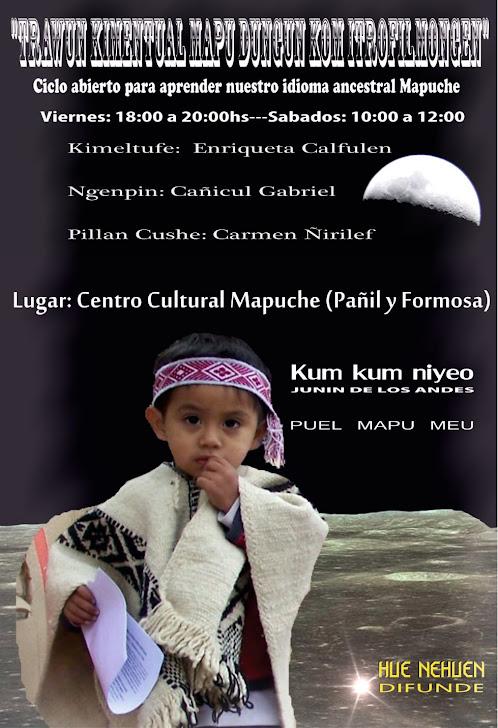 Taller de idioma Mapuche