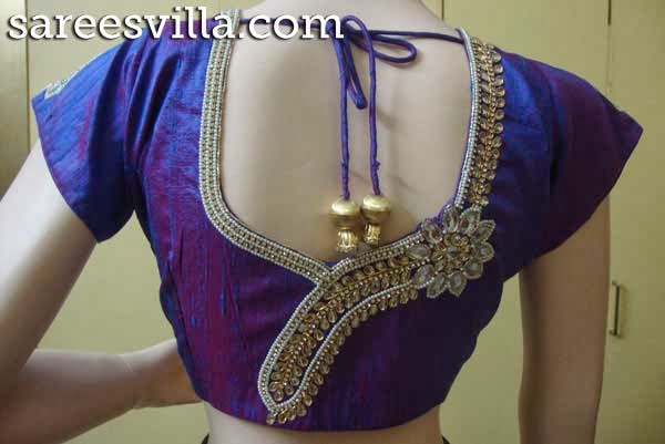 Maggam work blouse designs