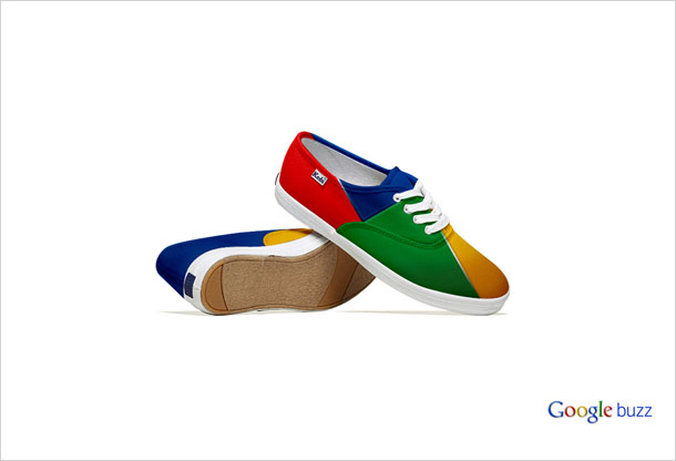 Social Media Shoes - Google
