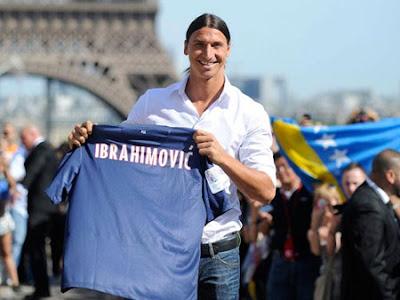 Zlatan Ibrahimovic exige la «10» al PSG