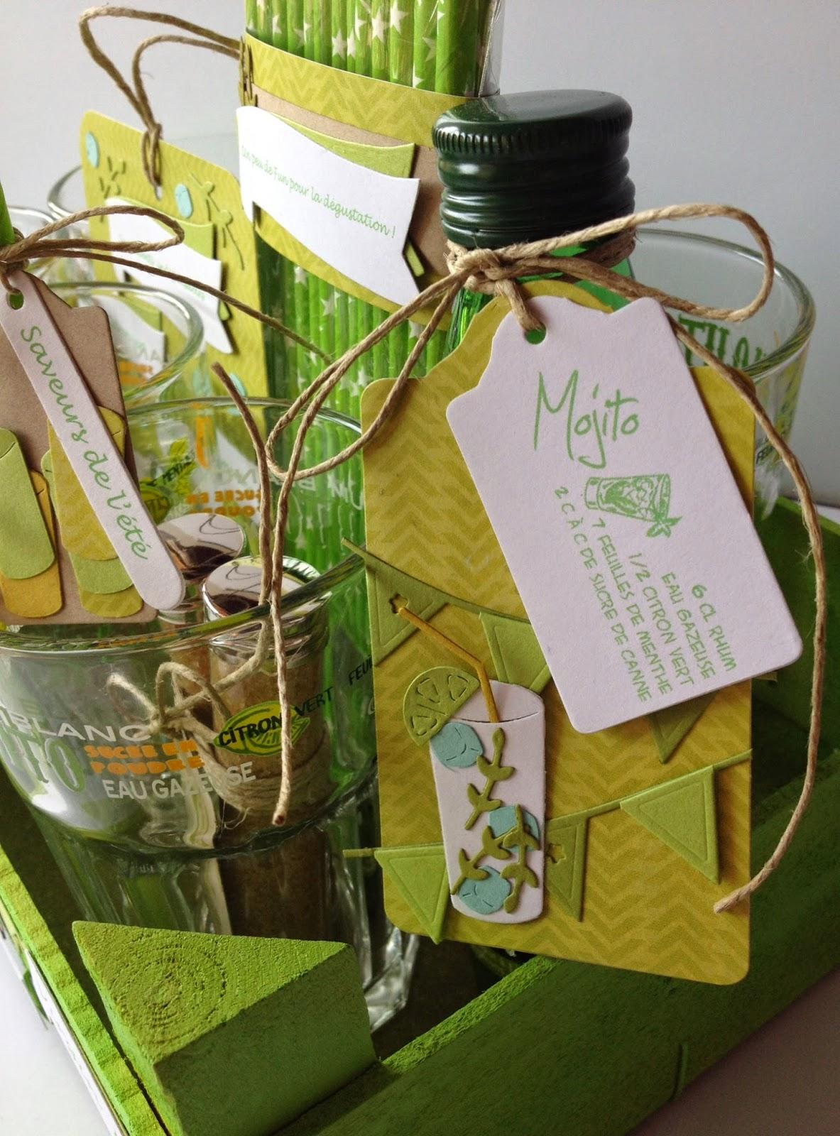 Bien-aimé Feebellescrap: Inspiration 4enscrap/ensemble cadeau Mojito! EF68