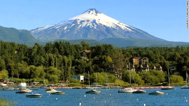 Gunung api fotogenik