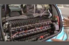 Νέα τεχνολογία μπαταρίας χρησιμοποιεί Αέρα και Νερό για την επαναφόρτιση