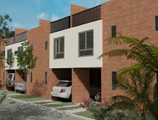 Planos arquitectonicos de condominio en 3 niveles for Niveles en planos arquitectonicos