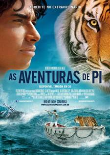 Download As Aventuras de Pi RMVB Dublado + AVI Dual Áudio + Torrent