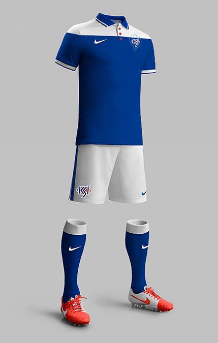 Designer idealiza novo escudo e uniformes para a Islândia - Show de ... 17aef38941fee