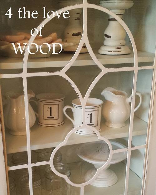 HOW TO PAINT FRET WORK   White Display Cabinet