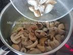 Ciulama de ciuperci preparare reteta