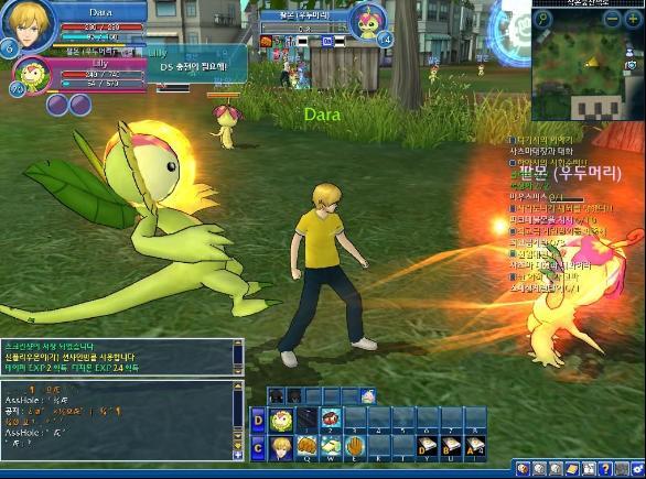 Digimon Masters Online batalhas