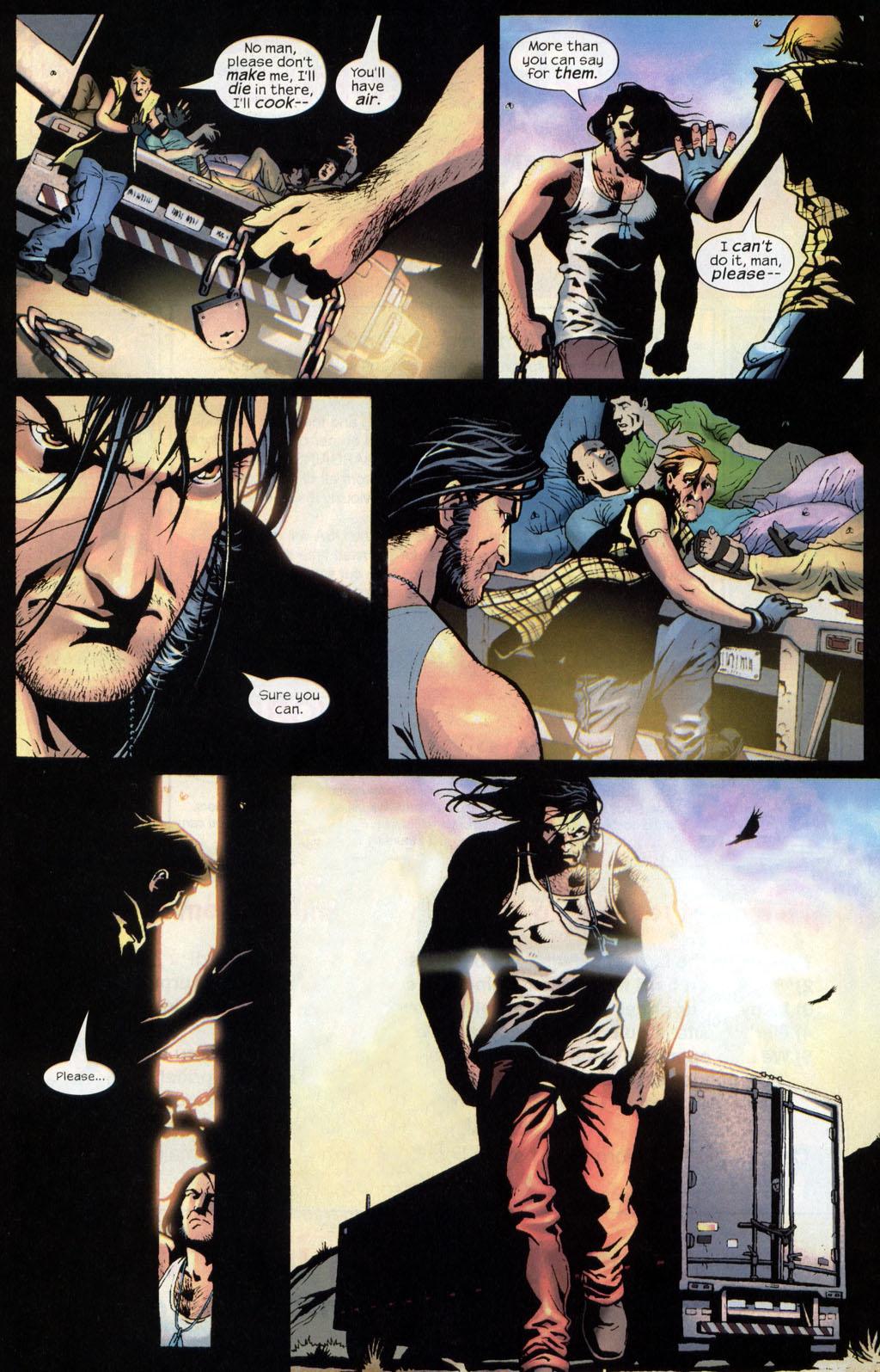 Read online Wolverine (2003) comic -  Issue #7 - 15