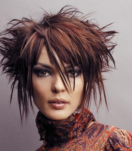VERSATILITY OF MEDIUM LENGTH HAIRCUT Short funky hairstyles