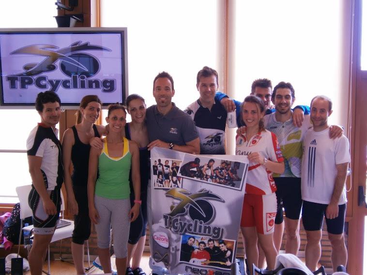 24ª Formación TPCycling en Reebok Sport Club La Finca
