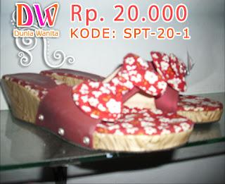 Sandal wanita murah 20 ribuan
