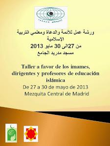 Taller a favor de los imames, dirigentes y profesores de educación islámica
