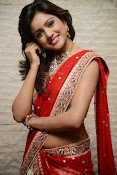 vithika sheru half saree photos-thumbnail-9