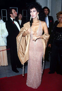 Cher at the 1984 Academy Awards
