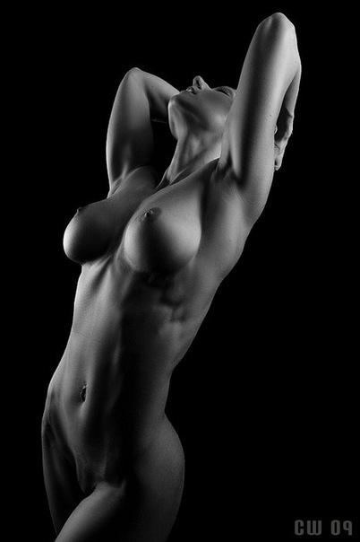 черно белое фото голых