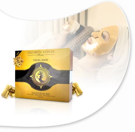 Złote maski Elizabeth Kessler