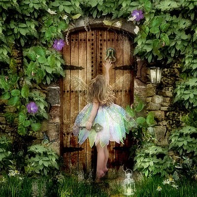 A lovely inconsequence the key for Fairy door with key