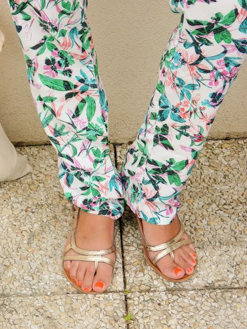Look Mode Combinaison tropicale Promod été 2015