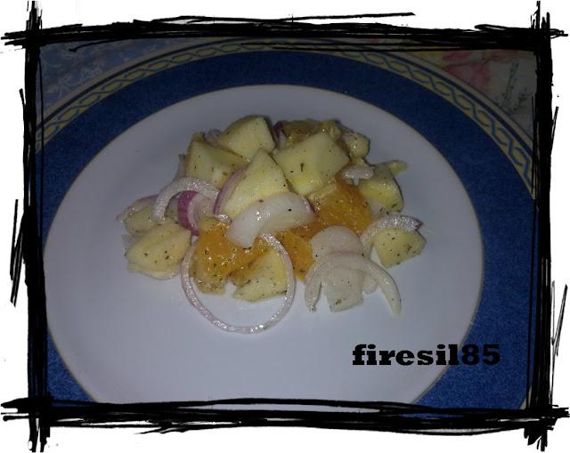 insalata di arance e mele