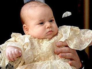 Fakta Menarik Gaun Baptis Pangeran George