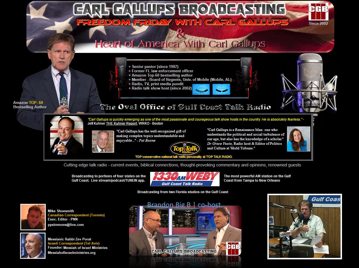 Freedom Friday With Carl Gallups | Carl Gallups Broadcasting