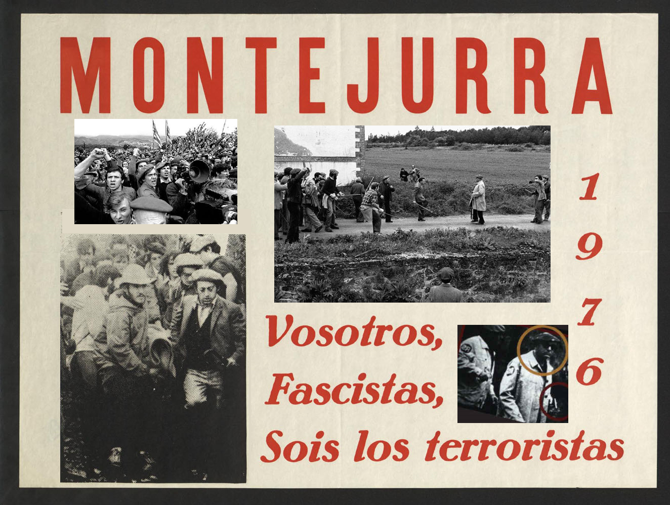 Montejurra 1976: ¡No al Fascismo! ¡Si al Carlismo!