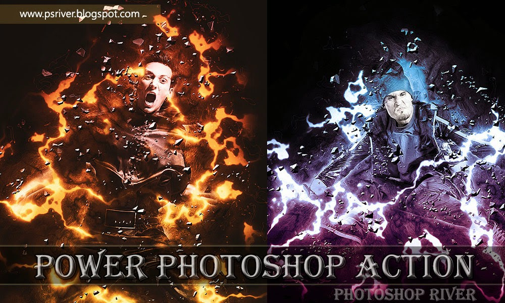 Free Power Ps Actions Download ~ Photoshop River - Free Download ...
