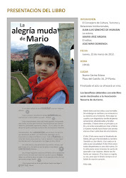 Presentación en Pamplona del libro La alegría muda de mario
