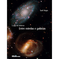 livro entre estrelas e galáxias