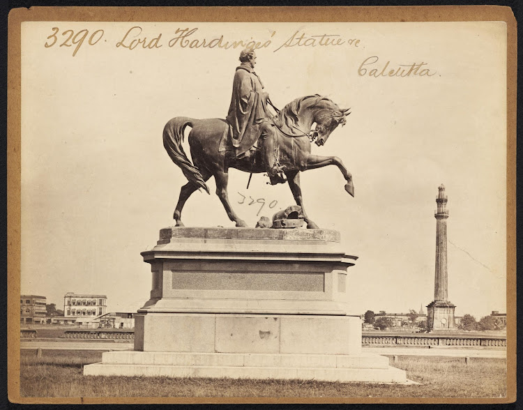 Lord Hardinge's Statue Calcutta ( Kolkata ) - Mid 19th Century