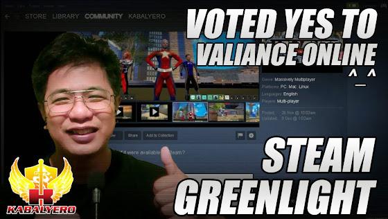 Steam Greenlight, Voted YES, Valiance Online