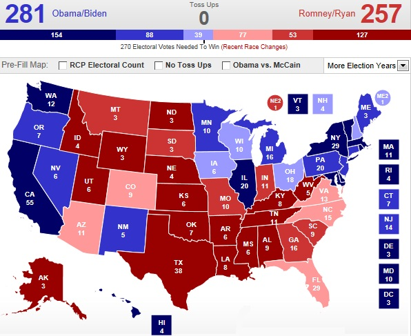 The Badger Catholic: Prediction Time: Electoral College maps are the ...