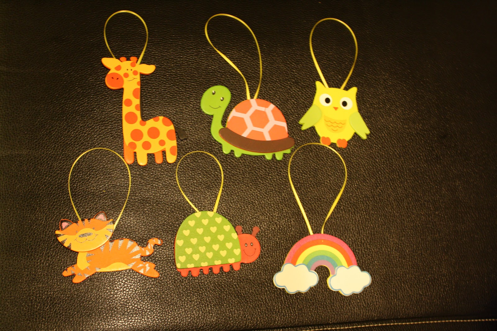 Wooden animals ornaments - With Some Inspiration In Mind I Went To Michaels And Bought Some Wooden Animals Glittery Pipe Cleaners And Some Wood Sticks For Less Than 8