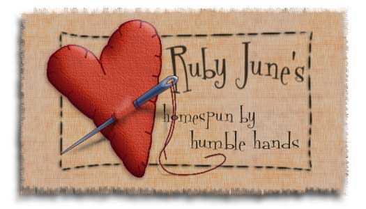Ruby June&#39;s...homespun by humble hands