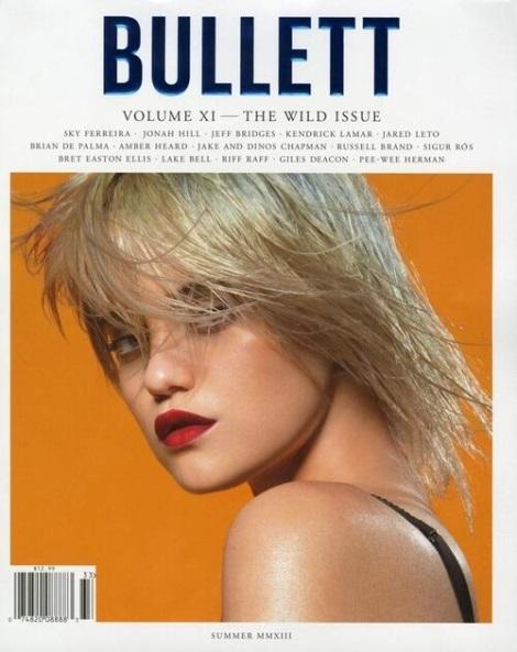 Sky Ferreira Bullett Magazine Cover