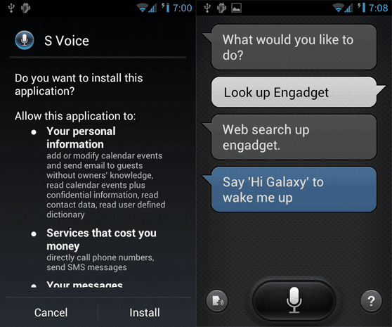 Download Samsung S Voice For Rooted Android Phones