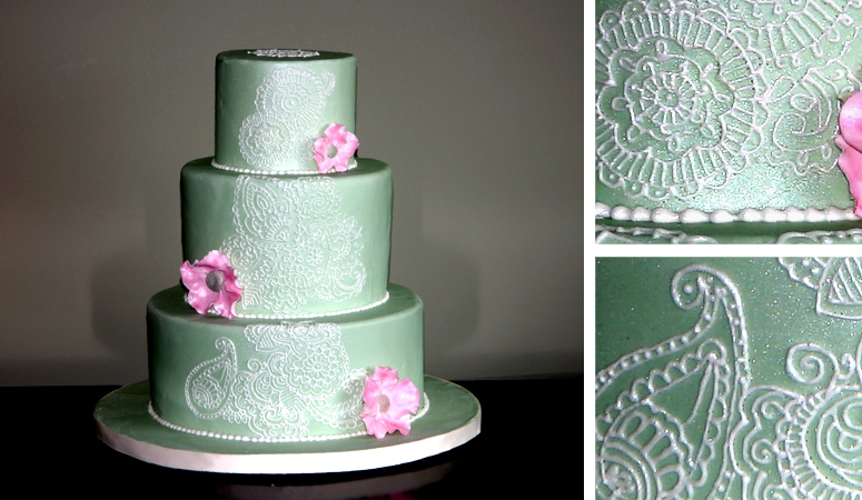 Wedding Cake Bakery 22 Spectacular Mednhi Pattern Wedding Cake