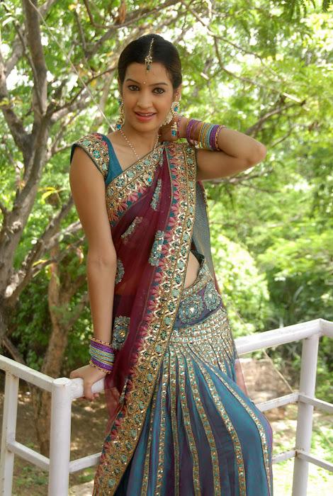 diksha panth new saree , diksha saree hot photoshoot