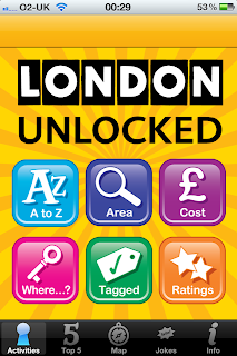 London Unlocked iPhone / iPad App and Guide Book