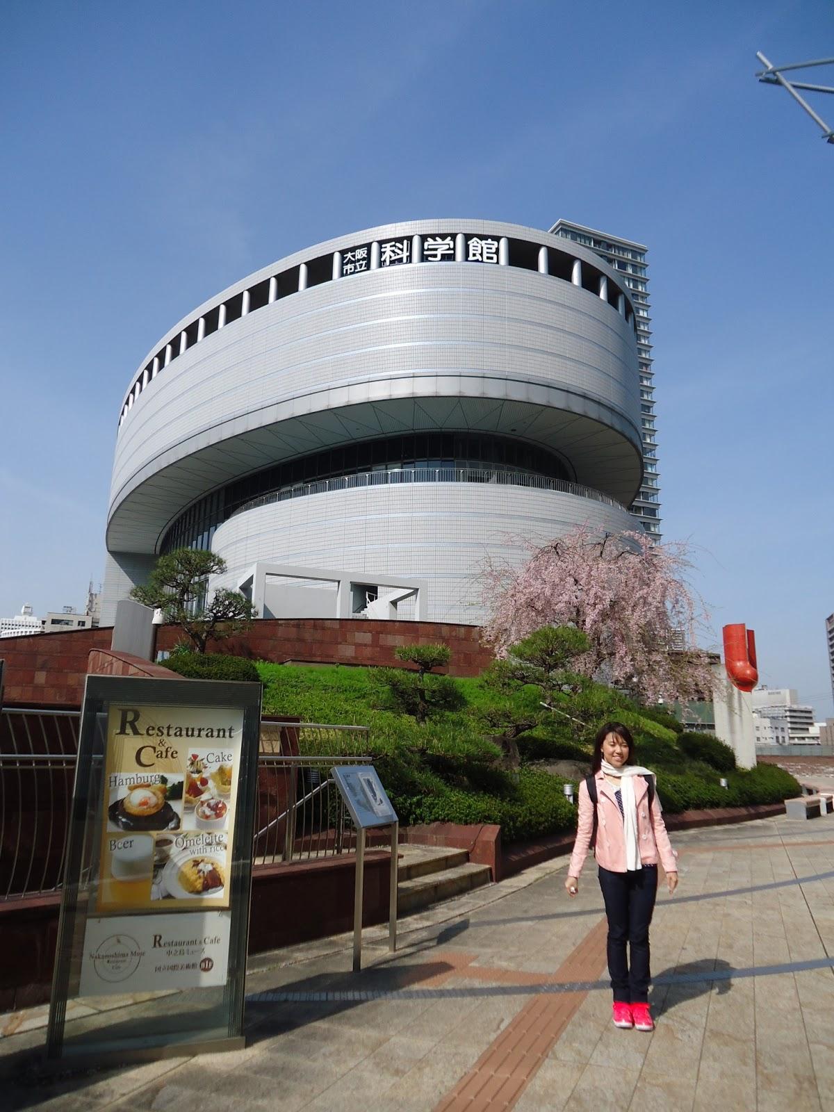 Mels Steps: Osaka Science Museum at Osakako