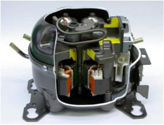 BELAJAR MEMBUAT BLOG Kompresor Inverter Kulkas Kompresor