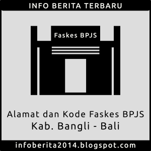 Daftar Alamat dan Kode Faskes BPJS Bangli - Bali