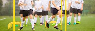 Características de um treino de Futebol