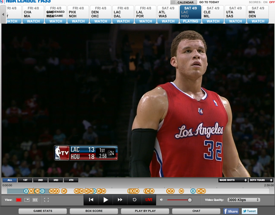 watch nba live online on streaming