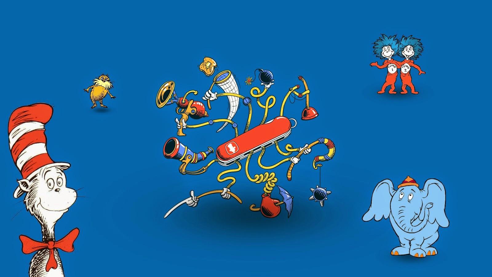 Dr Seuss Wallpaper