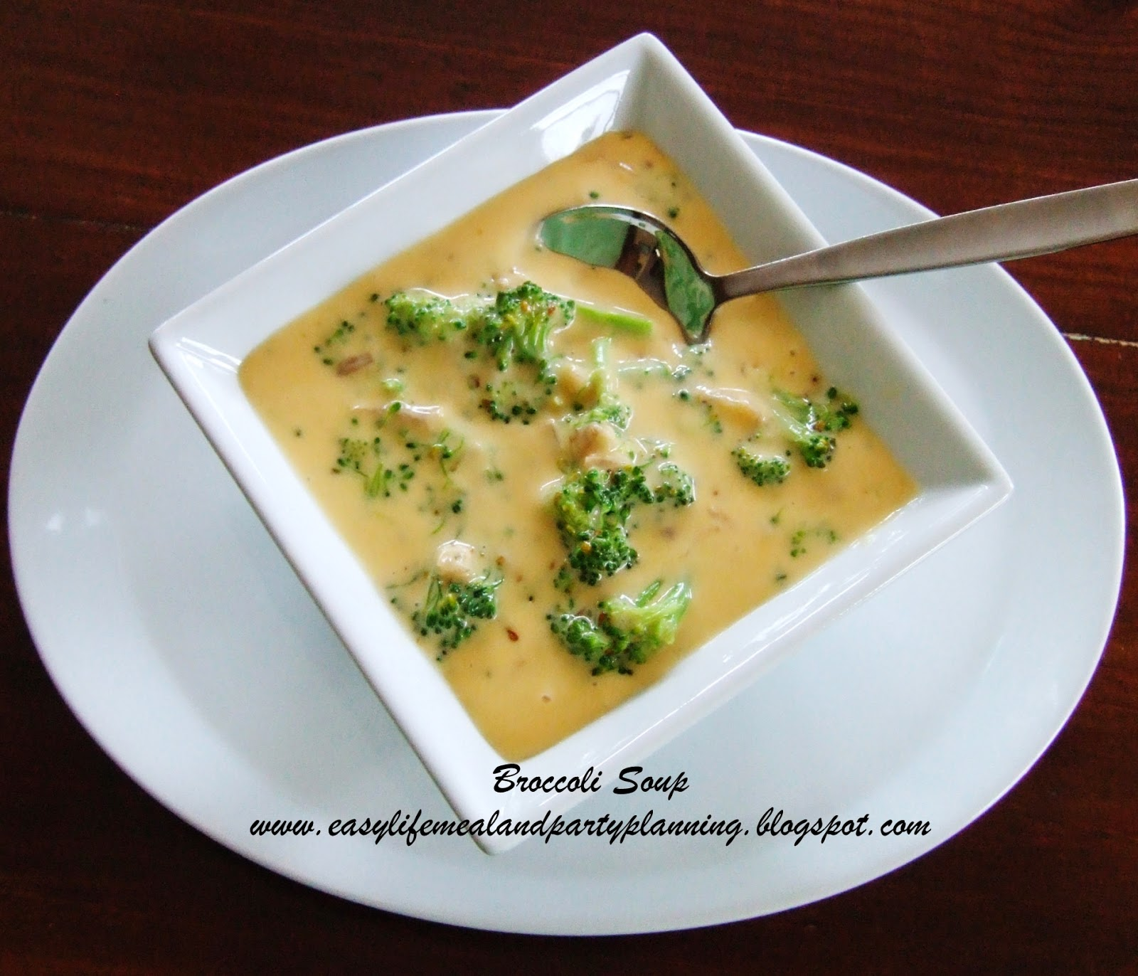 Broccoli Cheese Soup by Easy Life Meal and Party Planning