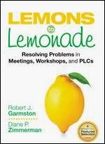 Lemons to Lemonade: Resolvong Problems in Meetings, Eorkshops, and PLCs